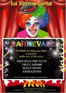 Carnevale con le Bolle alla Prima Luna @ La Prima Luna Botticino | Botticino | Lombardia | Italia