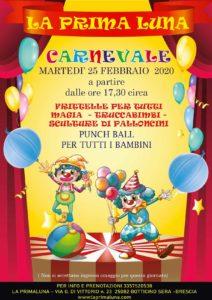 Magico Carnevale alla Prima Luna @ La Prima Luna Botticino | Botticino | Lombardia | Italia