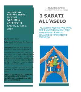 I sabati all'asilo -  Formazione genitori @ Scuola Infanzia San Rocco Brescia | Brescia | Lombardia | Italia