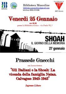 Shoah, il giorno della Memoria @ Biblioteca Muscoline | Chiesa | Lombardia | Italia