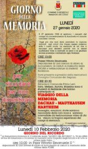 Giornata della Memoria e del Ricordo Bedizzole @ Bedizzole
