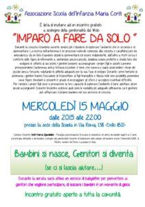 Imparo a fare da solo @ Scuola Infanzia Maria Conti - Dello