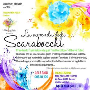 La merenda degli scarabocchi @ Orso Pilota | Sarezzo | Lombardia | Italia