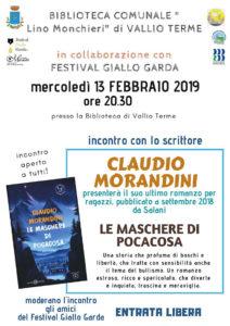 Le maschere di Pocacosa @ Biblioteca Vallio Terme | Case Nuove | Lombardia | Italia