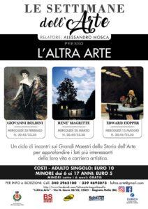 Settimane dell'arte @ Altra Arte | Brescia | Lombardia | Italia