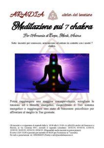 Meditazione sui 7 chakra @ ARADIA atelier del benessere