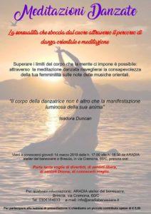Meditazioni Danzate @ ARADIA atelier del benessere