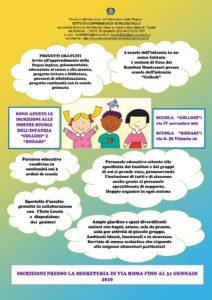 Casa dei bambini - scuola Montessori a Borgosatollo @ La casa dei bambini è ubicata presso la Scuola dell'infanzia Collodi