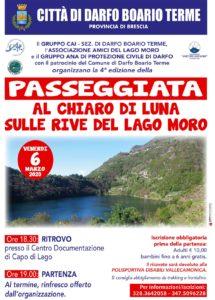 Passeggiata al chiaro di luna sulle rive del Lago Moro @ ritrovo Centro Documentazione di Capo di Lago | Darfo | Lombardia | Italia