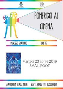 Pomeriggi al cinema per bambini  a Toscolano @ Auditorium scuole medieToscolano Maderno | Toscolano Maderno | Lombardia | Italia