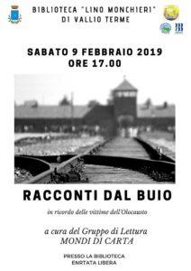 Racconti dal buio - Vallio Terme @ Biblioteca Vallio Terme | Case Nuove | Lombardia | Italia