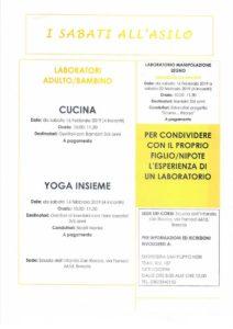 I sabati all'asilo -  Laboratori bambini-genitori @ Scuola Infanzia San Rocco Brescia | Brescia | Lombardia | Italia