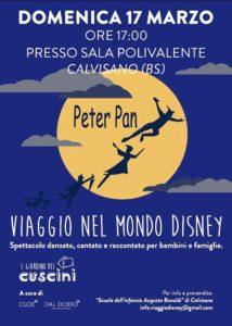 Il Giardino dei Cuscini - Peter Pan @ Sala polivalente Calvisano | Montichiari | Lombardia | Italia