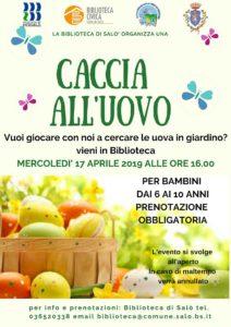 Caccia all'uovo @ Biblioteca di Salò | Salò | Lombardia | Italia