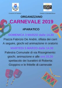 Carnevale a Paratico @ Paratico