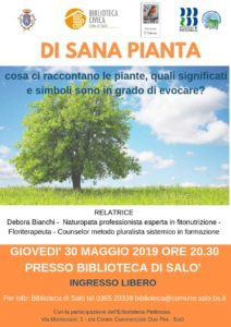 Di sana pianta @ Biblioteca di Salò | Salò | Lombardia | Italia