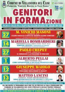 Genitori in FORMAzione @ Teatro Corallo Villnauova s/Clisi  | Gavardo | Lombardia | Italia