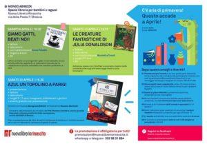 Accade ad aprile alla Nuova Libreria Rinascita @ Nuova Libreria Rinascita | Brescia | Lombardia | Italia