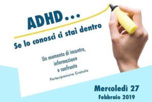 """ADHD: Se lo conosci ci stai dentro @ Teatro della Scuola Primaria """"Torricella"""" Brescia"""