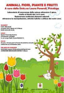 Animali, fiori, piante e frutti @ Spazio Crescendo Insieme