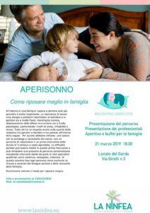 Aperisonno: come riposare meglio in famiglia @ Centro La Ninfea | Lonato | Lombardia | Italia