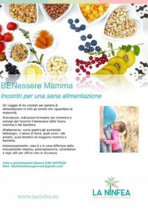 BENessere Mamma: incontri per una sana alimentazione @ Centro La Ninfea | Lonato | Lombardia | Italia