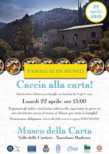 Caccia alla Carta! @ Cartiere di Toscolano | Lombardia | Italia