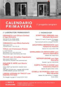 Workshop Tangram, a tutta arte! [aprile] @ Progetto Tangram | Brescia | Lombardia | Italia