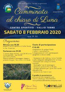 Camminata al chiar di Luna | Vallio Terme @ ritrovo centro sportivo Vallio Terme | Case Nuove | Lombardia | Italia