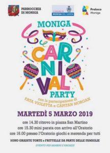 Carnevale a Moniga @ Moniga del Garda
