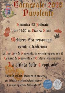Carnevale a Nuvolento @ Nuvolento | Nuvolento | Lombardia | Italia