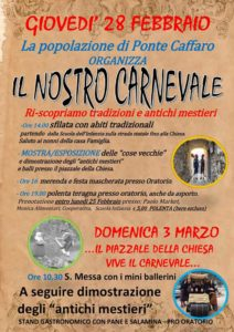 Il nostro Carnevale @ Ponte Caffaro