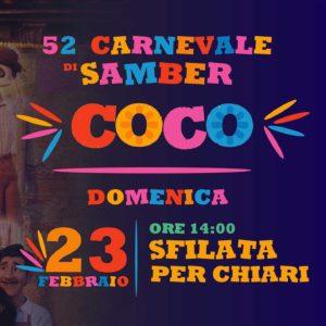 Carnevale di Samber a Chiari @ Oratorio Samber Salesiani Chiari | Chiari | Lombardia | Italia
