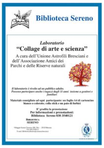 Collage di Arte e Scienza @ Biblioteca del Villaggio Sereno