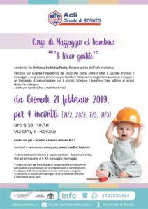 Il tocco gentile - corso di massaggio al bambino @ sede Acli Rovato