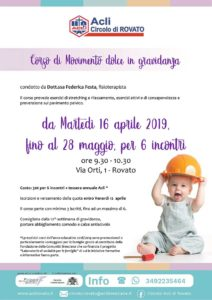 Movimento dolce in gravidanza @ sede Acli Rovato