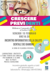 Crescere Previdenti @ Biblioteca Sabbio Chiese