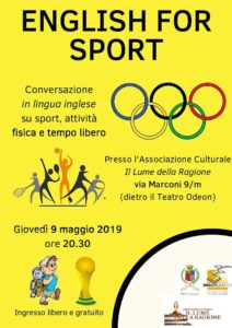English for sport @ Biblioteca Lumezzane | Lumezzane | Lombardia | Italia