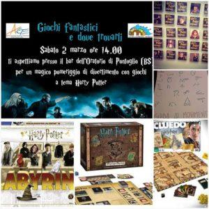 Giochi fantastici e dove trovarli @ Oratorio di Pontoglio