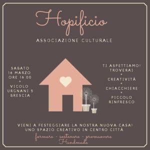Hopificio Spazio Creativo - inaugurazione @ Brescia