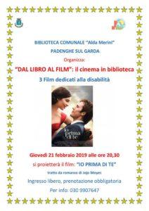 Il cinema in biblioteca @ biblioteca A. Merini di Padenghe