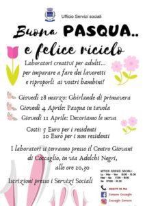 Buona Pasqua, felice riciclo @ Centro giovani Coccaglio