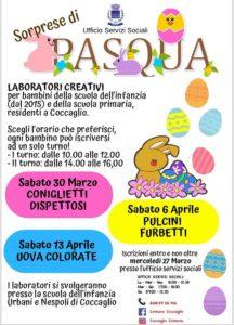 Laboratorio sorprese di Pasqua @  scuola infanzia Urbani e Nespoli