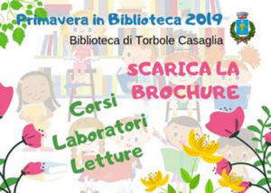 Primavera in biblioteca @ Biblioteca di Torbole Casaglia