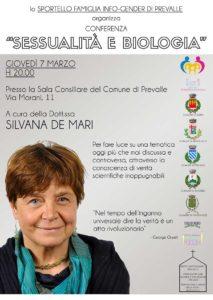 Sessualità e biologia @ Comune di Prevalle