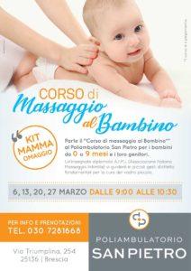 Corso di massaggio al Bambino @ Poliambulatorio San Pietro