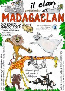 MadagaCLAN @ Teatro comunale Borgosatollo | Pompiano | Lombardia | Italia