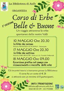 Corso di erbe belle&buone @ Biblioteca di Anfo | Casto | Lombardia | Italia