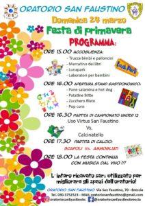 Festa di Primavera @ Oratorio San  Faustino Brescia