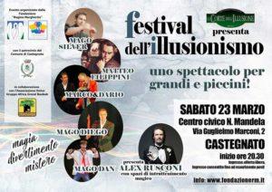 Festival Illusionismo @ Castegnato Centro civico Nelson Mandela